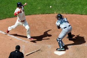 foot off plate | Jason Miller, Getty Images