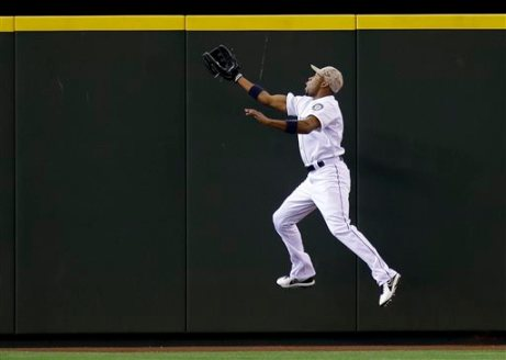 what a catch! | Ted S. Warren, AP