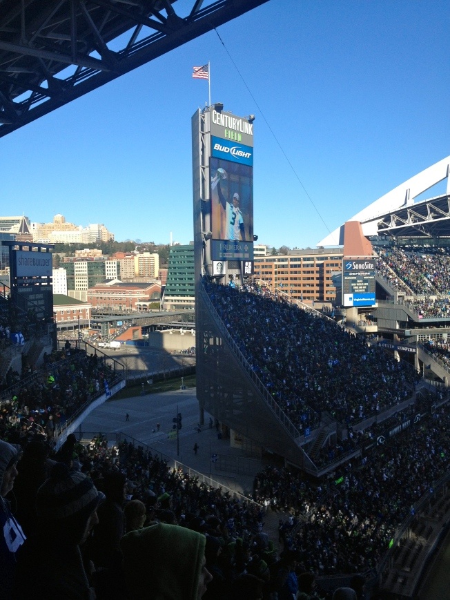 Trophy Ceremony at CLink at the parade conclusion