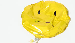balloon deflated